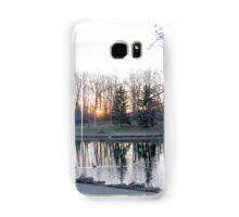 Great sun rise photo  Samsung Galaxy Case/Skin