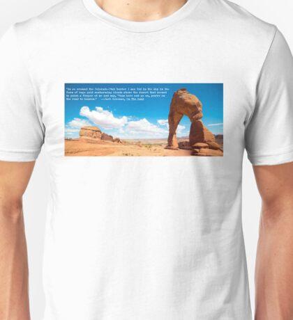 Kerouac's On the Road in Utah Unisex T-Shirt