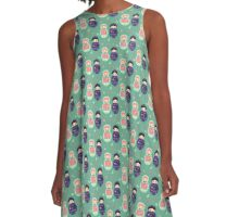 Matrioska A-Line Dress