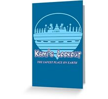 Kami's Lookout Greeting Card