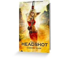 Headshot Greeting Card
