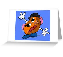 Mr. Potato Head as a Picasso Greeting Card
