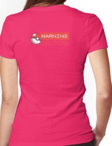 Warning - This trainer randomly stops - Pokemon Go Womens Fitted T-Shirt
