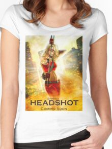 Headshot Women's Fitted Scoop T-Shirt