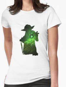 Yoda Galaxy Womens Fitted T-Shirt