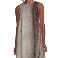 Downward Spiral  A-Line Dress