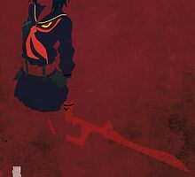 Ryuko Matoi by jehuty23