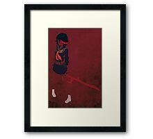 Ryuko Matoi Framed Print