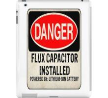 Logo-Flux Capacitor iPad Case/Skin