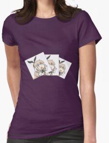 Shimakaze nee-san Womens Fitted T-Shirt