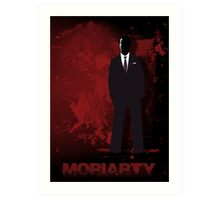 Moriarty Art Print