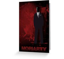 Moriarty Greeting Card