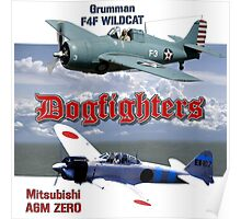 Dogfighters: F4F vs A6M Poster