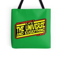 Hitchhiker's Guide Strikes Back Tote Bag