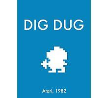 Dig Dug Photographic Print
