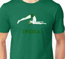 India - Halasana Yoga T-shirt Unisex T-Shirt