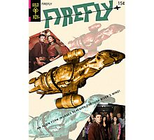 Firefly Vintage Comics Cover (Serenity) Photographic Print