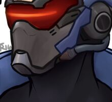 OVERWATCH Soldier 76 - History Has Its Eyes On You Sticker