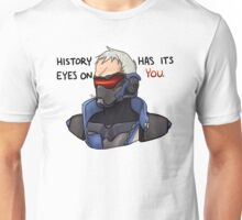 OVERWATCH Soldier 76 - History Has Its Eyes On You Unisex T-Shirt