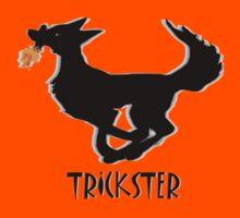 Trickster Coyote Steals Fire by Muninn