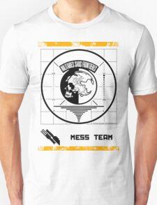 Metal Gear Solid MSF Mess Team Shirt Unisex T-Shirt
