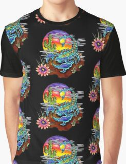 Psychedelic Scorpion Graphic T-Shirt