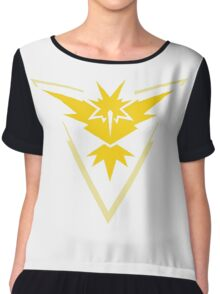 Pokemon GO - Team Instict Chiffon Top