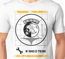 Metal Gear Solid MSF R&D Team Shirt Unisex T-Shirt