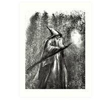Gandalf The Grey  Art Print