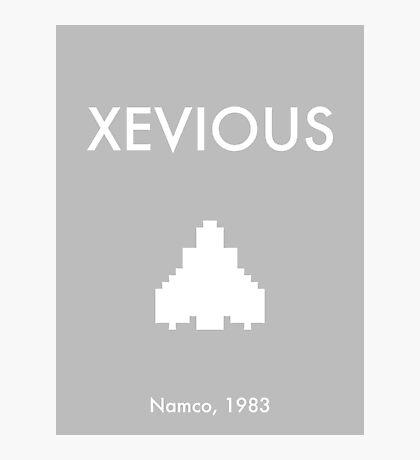 Xevious Photographic Print