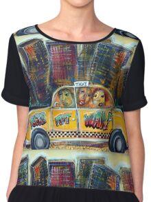Taxi  Chiffon Top