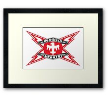 MOBILE INFANTRY Framed Print