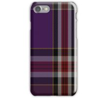 02175 Unknown 19th Century (Bill Johnson) Tartan iPhone Case/Skin