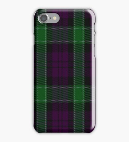 02174 Graham of Mentieth Plaid Artefact Tartan  iPhone Case/Skin