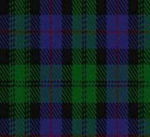 02173 The Urquhart (Logan) Clan/Family Tartan  Sticker