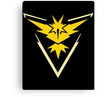 Team Instinct - Pokemon Go Canvas Print