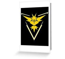 Team Instinct - Pokemon Go Greeting Card