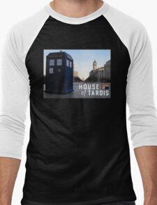 House of TARDIS Men's Baseball ¾ T-Shirt