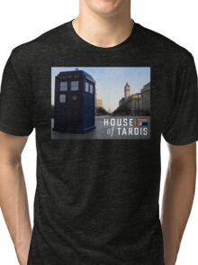 House of TARDIS Tri-blend T-Shirt