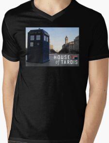 House of TARDIS Mens V-Neck T-Shirt