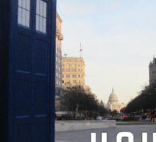 House of TARDIS Sticker