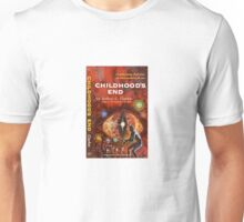 Pulp Fiction Cover of Arthur C. Clarke's Childhood's End Unisex T-Shirt
