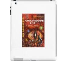 Pulp Fiction Cover of Arthur C. Clarke's Childhood's End iPad Case/Skin
