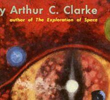 Pulp Fiction Cover of Arthur C. Clarke's Childhood's End Sticker