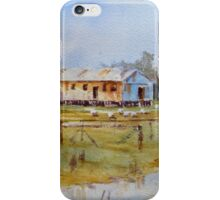 Old Shed on Banks of Lake Cowal, NSW iPhone Case/Skin