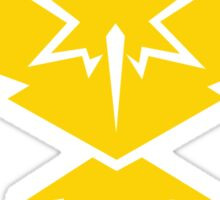 Pokemon GO - Team Instinct alternative Sticker