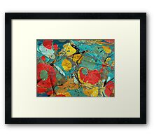 Abstract Painting ; Canyon Framed Print
