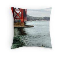 Live Golden Gate Throw Pillow