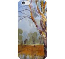 Gum Tree near Jemalong Weir, Forbes iPhone Case/Skin