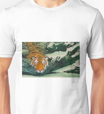 Tiger Waters Unisex T-Shirt
